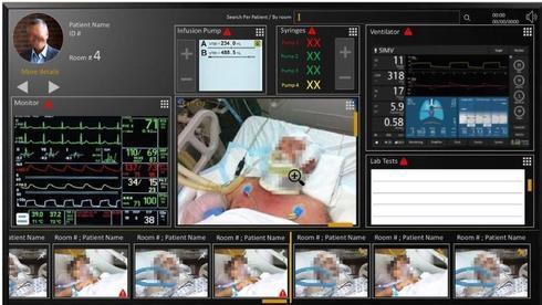 Система Cockpit для мониторинга больных. Фото: Elbit