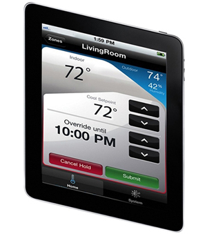 honeywell rth9580wf youtube molex wiring diagram wi fi smart thermostat w customizable color