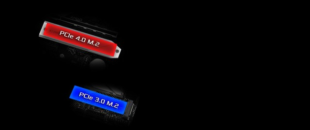 DualM2-SSD-B550 Pro4 of the  motherboard