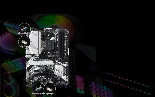 POLYRGBLED-B550 Phantom Gaming 4 WiFi ax