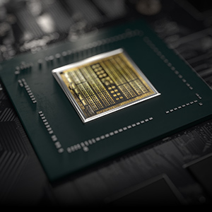 NVIDIA Turing GPU Chip On the Graphics Card Chipset