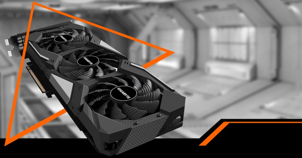 GeForce® GTX 1660 SUPER™ GAMING OC 6G Graphics Card with background