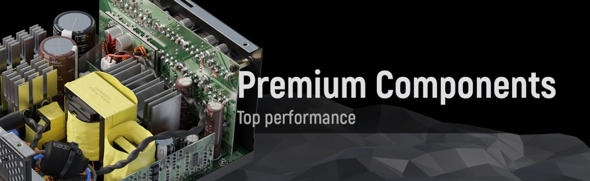 Seasonic PRIME Full Modular, Fan Control in Fanless, Silent, and Cooling Mode premium component