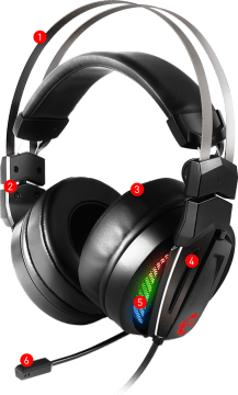 Immerse GH70 RGB Gaming Headset