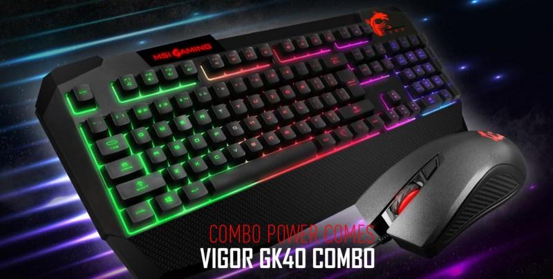 msi VIGOR-GK40-COMBO