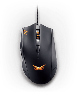 ASUS STRIX CLAW 90YH00C1-BAUA00 Black Wired Optical Gaming Mouse - Newegg.com