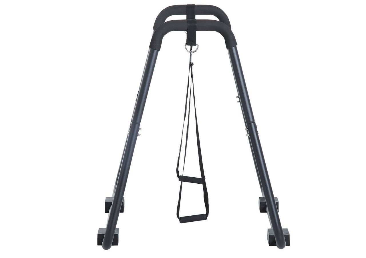 Soozier Fitness Dip Station Bar Pull Push Up Stand Workout