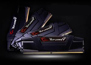 four black Ripjaws V series modules