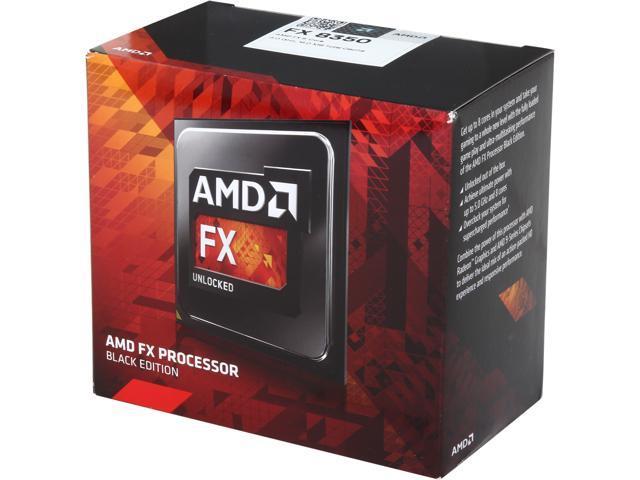 AMD FX-8350 Black Edition Vishera 8-Core 4.0 GHz (4.2 GHz Turbo) Socket AM3+ 125W FD8350FRHKBOX Desktop Processor - Newegg.ca