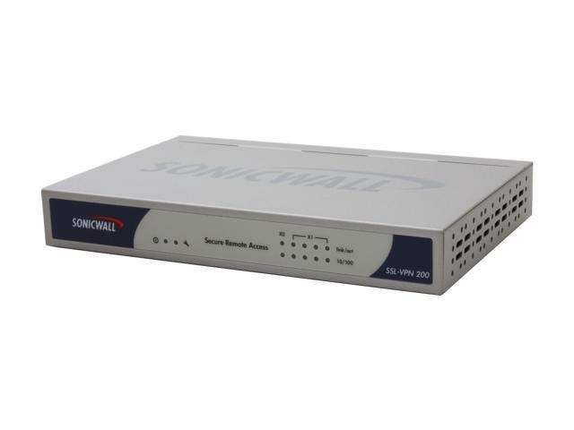 SONICWALL 01-SSC-5946 SSL-VPN 200 Gateway - Newegg.com