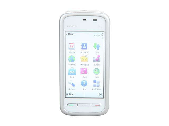 NOKIA 5230 White 3G Unlocked GSM Smart Phone with Touch