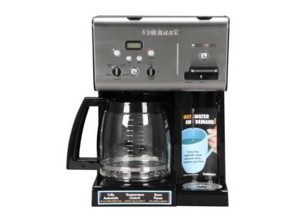Cuisinart CHW12 BlackStainless Coffee Plus 12Cup