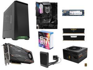 Intel Core i7-7700K Kaby Lake Quad-Core 4.2 GHz Processor, ASUS ROG STRIX Z270E GAMING, CORSAIR 16GB (2 x 8GB) DDR4 3000 ...