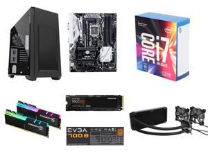 Intel Core i7-7700K Kaby Lake Quad-Core 4.2 GHz, ASUS PRIME Z270-A LGA 1151 Intel Z270 MB, G.SKILL TridentZ RGB Series 16GB, ...