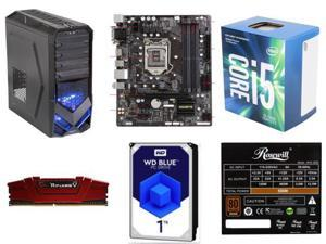 Intel Core i5-7400 Kaby Lake Quad-Core 3.0 GHz, GIGABYTE GA-B250M-DS3H (rev. 1.0) B250 MB, G.SKILL Ripjaws V Series 8GB DDR4 ...