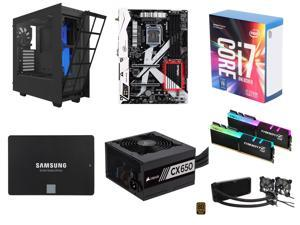 Intel Core i7-7700K Kaby Lake Quad-Core 4.2 GHz, ASRock Z270 KILLER SLI/AC LGA 1151 Intel Z270 MB, G.SKILL TridentZ RGB Series ...