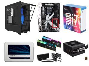 Intel Core i7-7700K Kaby Lake Quad-Core 4.2 GHz, ASRock Z270 KILLER SLI/AC Z270 MB, G.SKILL TridentZ RGB 16GB DDR4 3200, ...