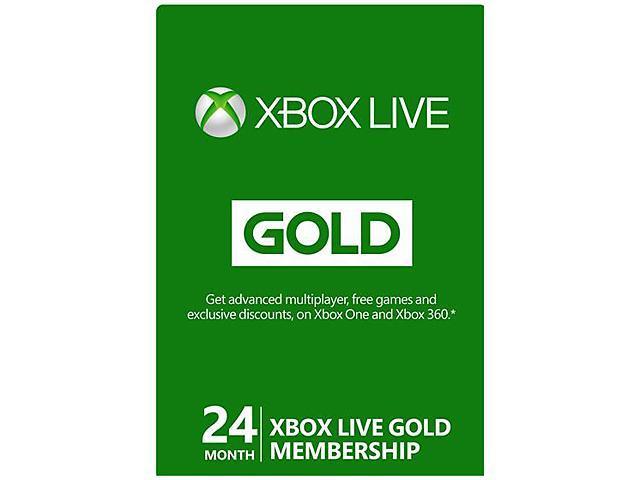 Xbox LIVE 24 Month Gold Membership (Digital Code)