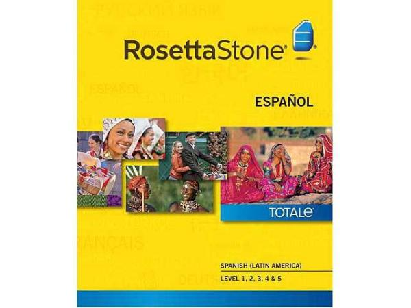 Rosetta Stone Spanish Latin America - Level 1-5 Set