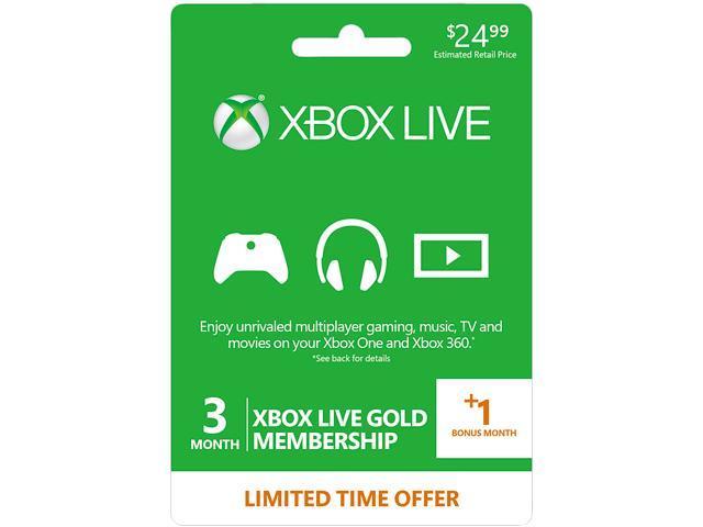 Xbox Live Prepaid 31 Month Gold Membership Card Digital