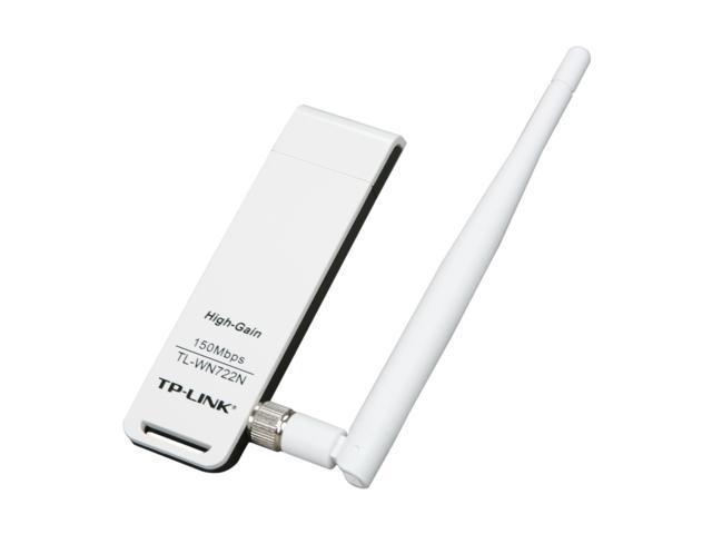 TP-LINK TL-WN722N Wireless N150 High Gain USB Adapter