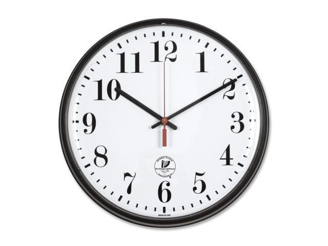 Chicago Lighthouse 67300002 Quartz Slimline Clock, 12-3