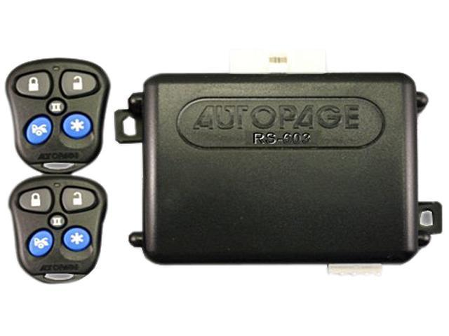Autopage C3rs665 Remote Start Car Starter Alarm Keyless Entry System