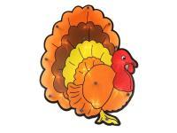 "15.75"" Lighted Thanksgiving Turkey Window Silhouette ..."