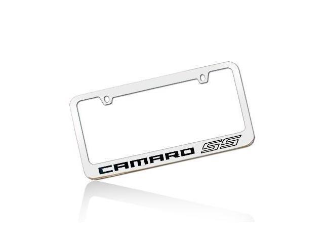 Chevrolet 2010 Camaro SS Chrome License Metal Plate Frame