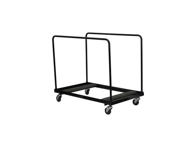 Flash Furniture Black Steel Folding Table Dolly for Round
