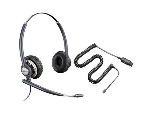 Plantronics EncorePro HW301N Stereo Corded Headset W/ A10