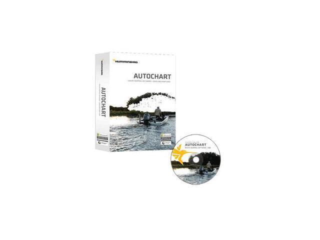 Humminbird Autochart DVD PC Mapping Software w/Zero Lines