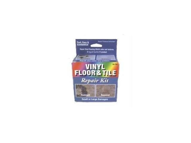 Liquid Leather Vinyl Floor and Tile Repair Kit  Dark Blue
