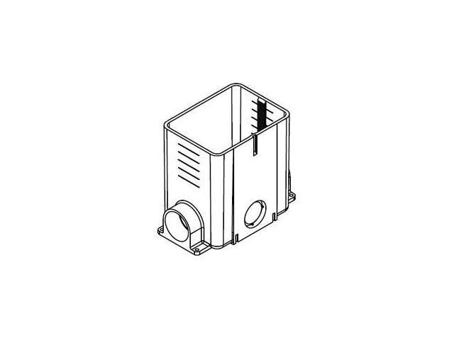 WIREMOLD 880MP Multi Service Non-Metallic Rect. Floor Box