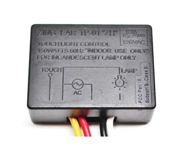 Zing Ear TP-01 ZH On/Off Touch Light Lamp Switch