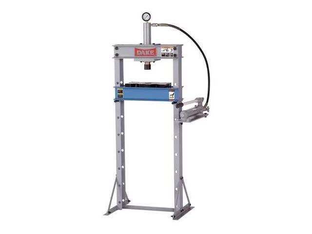 DAKE CORPORATION 972210 Hydraulic Press, 10 t, Manual Pump