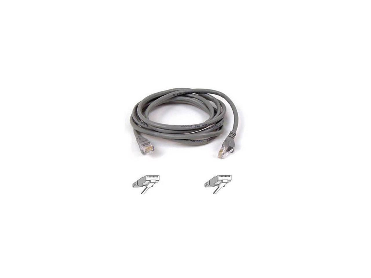 Belkin A3L791-20-S 20 ft. Cat 5E Gray Patch Cable