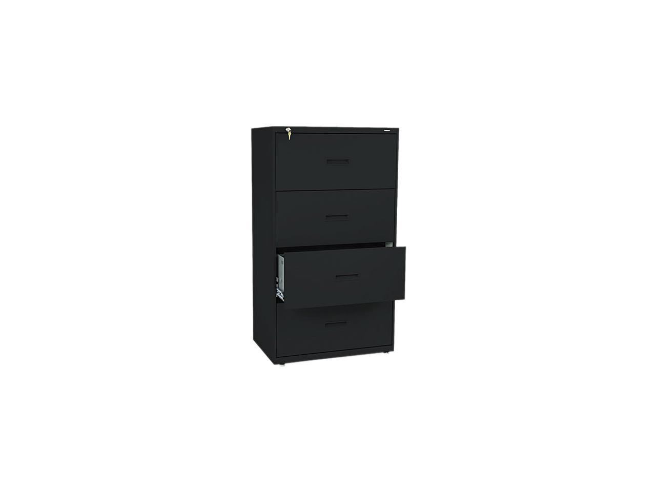 Details About Hon Furniture Files Lateral File Cabinets Filing Supplies 400 Series Steel Black