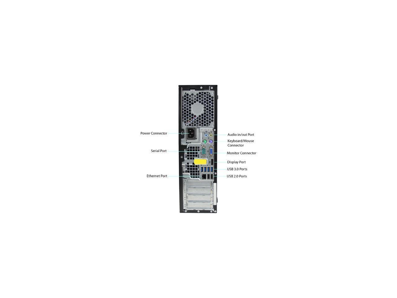 HP A Grade Desktop Computer 6300 Intel Core i5 3rd Gen