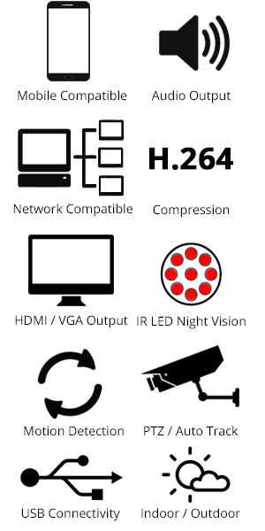 Vonnic DK4-KHD4104K 4 Channel 1080p HD-SDI DVR with 4 x