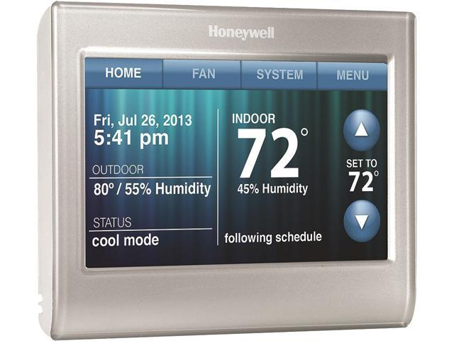 honeywell rth9580wf youtube miller welder 220v plug wiring diagram wi fi smart thermostat w customizable color touchscreen work with google