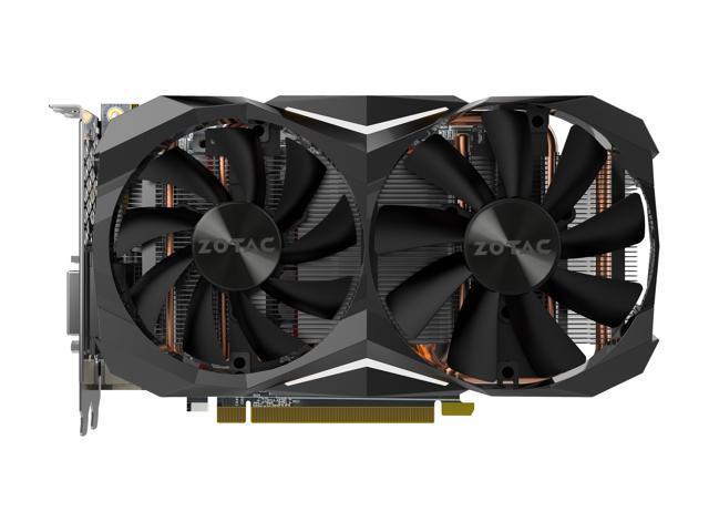 ZOTAC GeForce GTX 1080 Mini, ZT-P10800H-10P, 8GB GDDR5X IceStorm Cooling, Dual F
