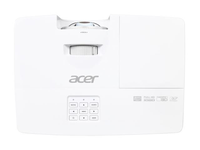 Acer H6517ST Projector, 3000 Lumens, 10000:1 Contrast