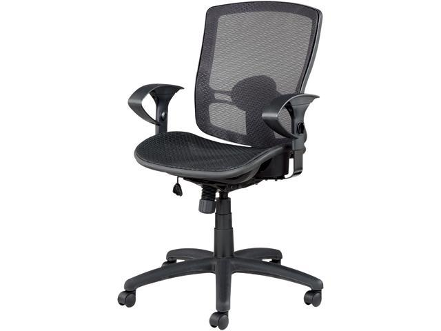 alera elusion series mesh mid back multifunction chair hire covers for weddings edinburgh el42bme10b mid-back swivel/tilt chair, black - newegg.com