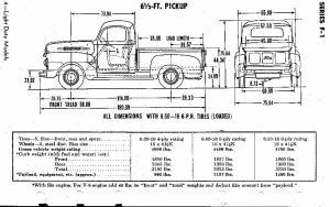 Photo: F1 Pickup Specs | 1951 Ford f1 album | Vdubjim