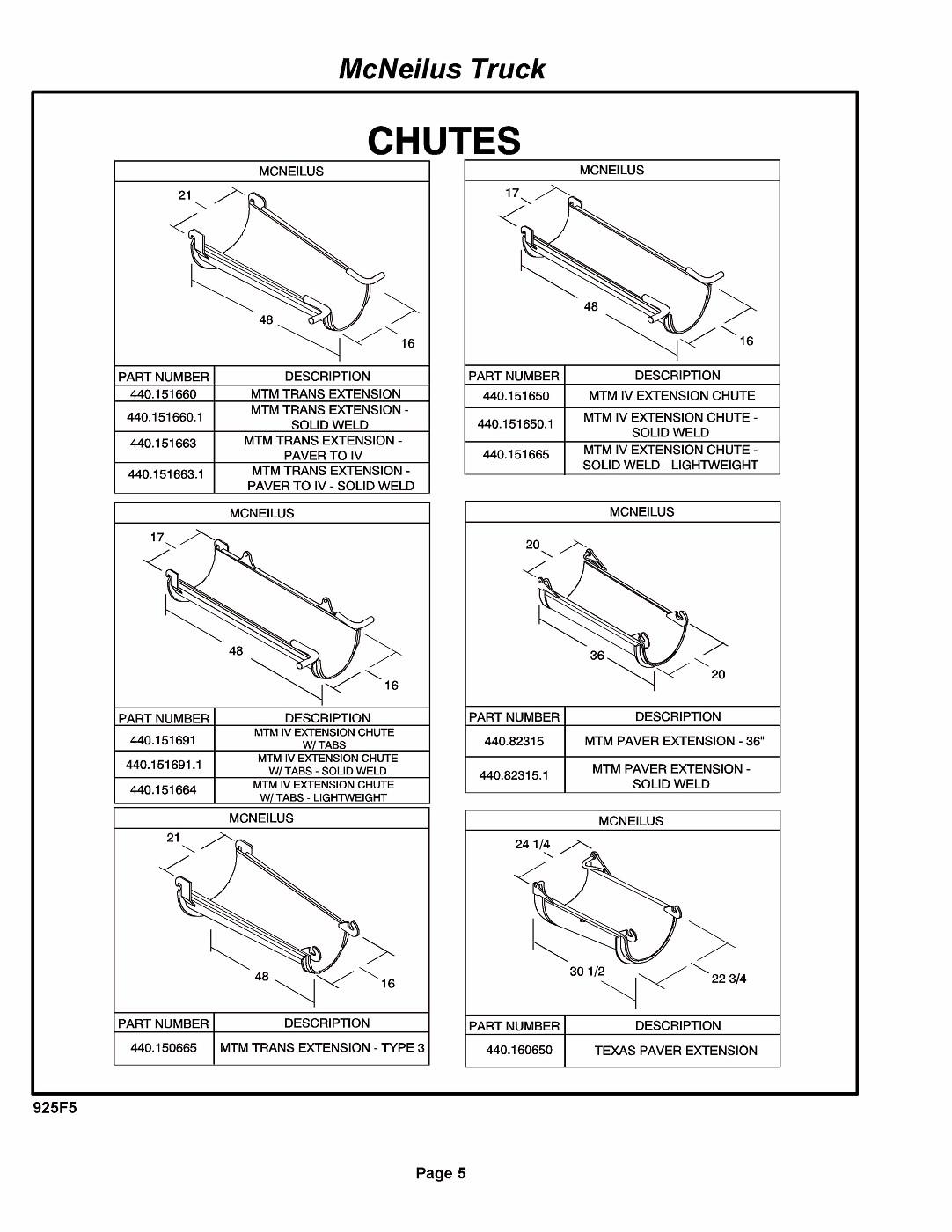 Photo: McNeilus Mixer Blue Book Parts Catalog[2] Pagina