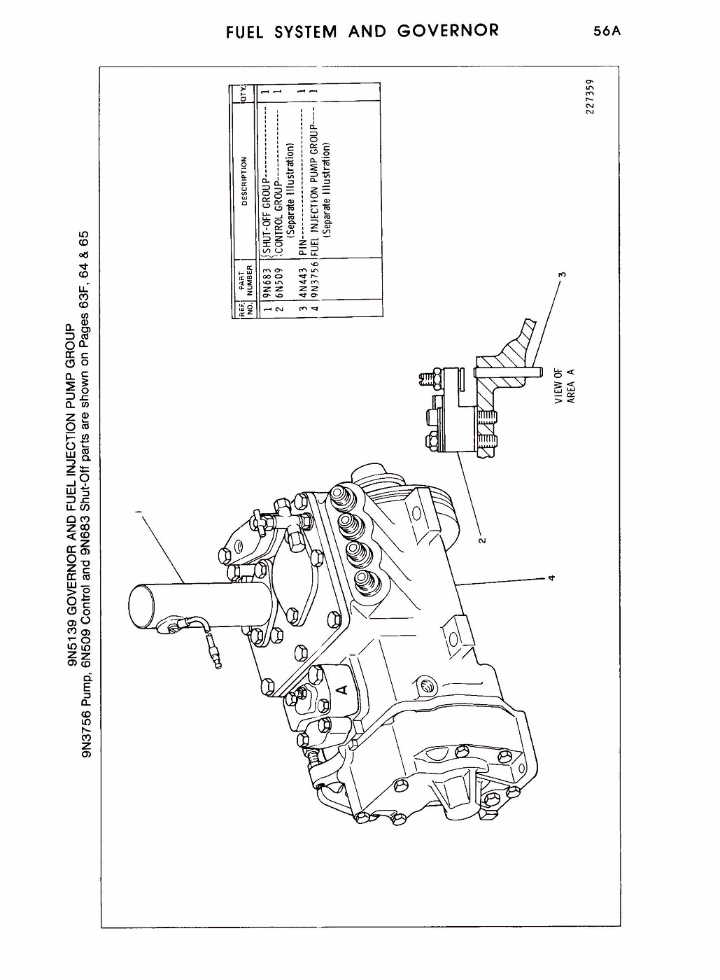 Cat Injection Pump Diagram