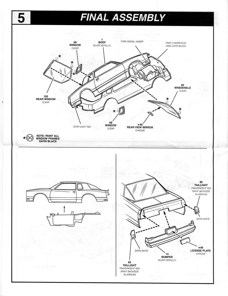 Photo: 1987 Chevrolet Monte Carlo SS Aerodeck Page 6
