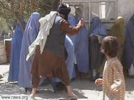 Beating women is encouraged under Sharia Law