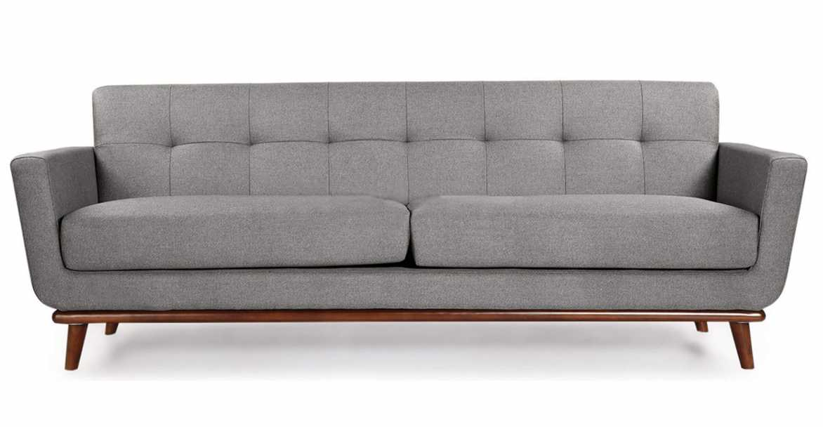 most durable upholstery fabric for sofa dining table bench mid century modern sofas, holden in | ifn-modern